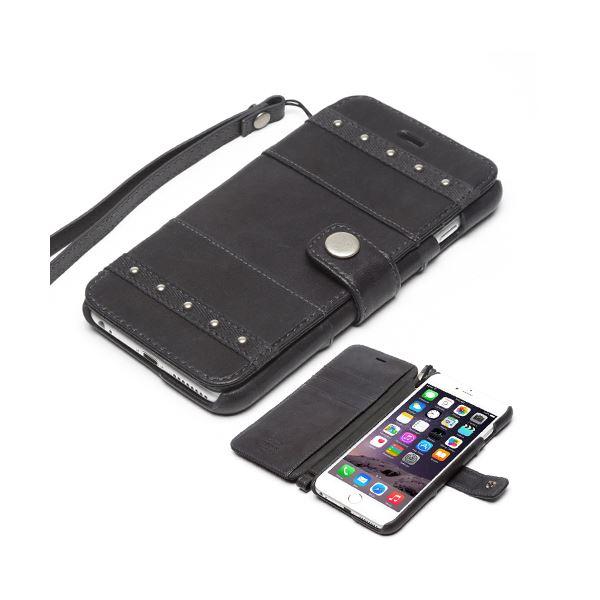 iPhone6s Plus/6 Plus ケース ZENUS Bohemian M Diary(ゼヌス ボヘミアンMダイアリー)アイフォン(dark grey)f00