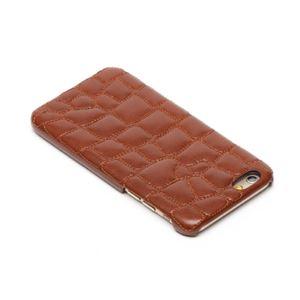 iPhone6s/6 ケース ZENUS Croco Quilting Bar(ゼヌス クロコキルティングバー)アイフォン(Bar Brown) h02