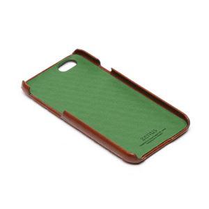 iPhone6s/6 ケース ZENUS Croco Quilting Bar(ゼヌス クロコキルティングバー)アイフォン(Bar Brown) h03
