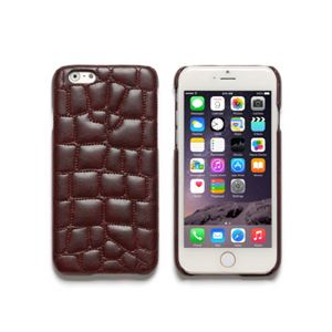 iPhone6s/6 ケース ZENUS Croco Quilting Bar(ゼヌス クロコキルティングバー)アイフォン(Bar Wine) h01