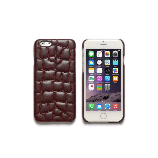 iPhone6s/6 ケース ZENUS Croco Quilting Bar(ゼヌス クロコキルティングバー)アイフォン(Bar Wine)f00