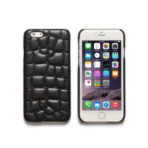 iPhone6s Plus/6 Plus ケース ZENUS Croco Quilting Bar(ゼヌス クロコキルティングバー)アイフォン(Bar Black)