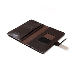 多機種対応スマートフォンマルチケース ZENUS Diana Diary(ゼヌス ダイアナダイアリー)5インチスマートフォン(Black Choco) h03