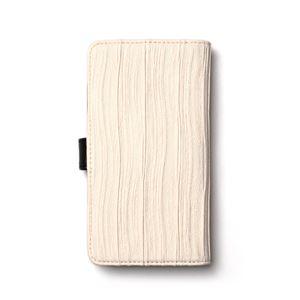 多機種対応スマートフォンマルチケース ZENUS Pleats Diary(ゼヌス プリーツダイアリー)(White) h02