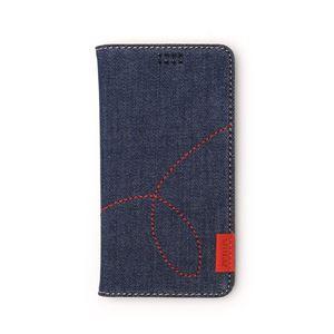 多機種対応スマートフォンマルチケース ZENUS Denim Diary(ゼヌス デニムダイアリー)(Deep Blue) h01