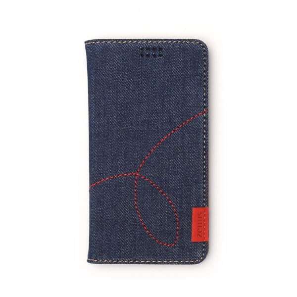 多機種対応スマートフォンマルチケース ZENUS Denim Diary(ゼヌス デニムダイアリー)(Deep Blue)f00