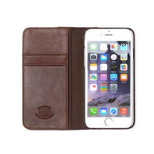 iPhone6s ケース 手帳型 ZENUS Denim Stripe Diary(ゼヌス デニムストライプダイアリー)アイフォン iPhone6(navy) h03
