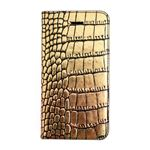 GAZE iPhone SE Gold Croco Diary
