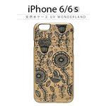 Man&Wood iPhone6/6s 天然木ケース UV WonderLand