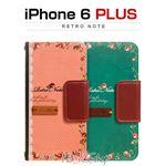 Mr.H iPhone6 Plus Retro Note ピンク