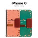 Mr.H iPhone6 Retro Note ピンク