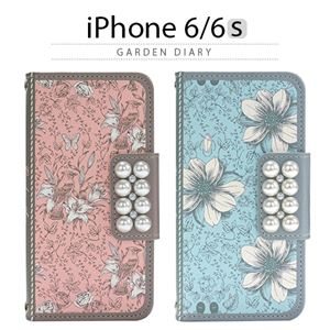 Mr.H iPhone6/6S Garden Diary ピンク