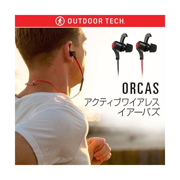 OUTDOOR TECH ORCAS アクティブワイアレスイアーバズ レッドf00