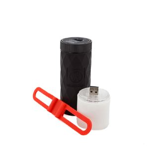 OUTDOOR TECH BUCKSHOT PRO ライト付きポータブルスピーカー レッド h02