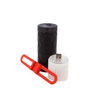 OUTDOOR TECH BUCKSHOT PRO ライト付きポータブルスピーカー グレー h02