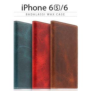 SLG Design iPhone6/6S Badalassi Wax case ブラウン