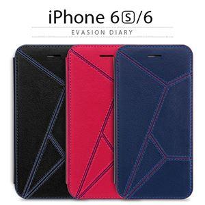 stiliPhone6/6SEVASIONDiaryブラック
