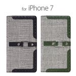 stil iPhone7 GENTLEMAN OXFORD グリーン
