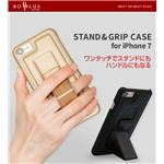 BOB PLUS iPhone7 STAND & GRIP CASE ネイビー