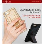 BOB PLUS iPhone7 STAND & GRIP CASE ローズゴルード