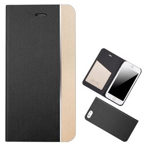 Chabel iPhone6 Metal Line Diary ブラック