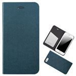 Chabel iPhone6 Plus Metal Square Cover Diary グリーン