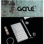 GAZE Xperia XZ Premium Hologram Croco Diary