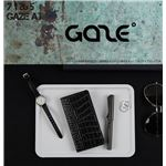 GAZE Xperia XZ Premium Vivid Croco Diary ブラック