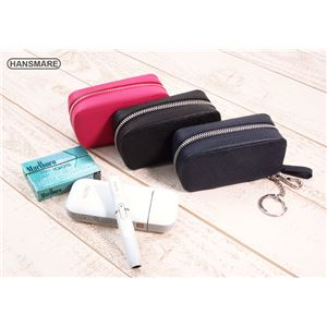HANSMARE iQOS LEATHER CASE ブラック