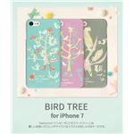 Happymori iPhone7 Bird Tree ミント