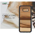 Man&Wood Galaxy S8 Plus 天然木ケース Cappuccino