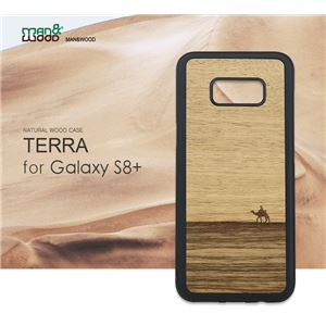 Man&Wood Galaxy S8 Plus 天然木ケース Terra