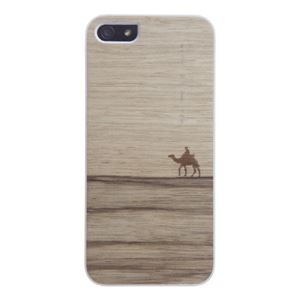 Man&Wood iPhone5/5s Real wood case Genuine New Terra ホワイトフレーム - 拡大画像