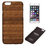 Man&Wood iPhone6 Plus 天然木ケース Koala ブラックフレーム
