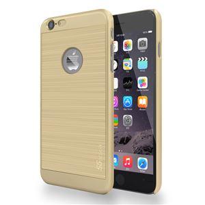 SG iPhone6 ALU ロゴイルミネーションケース Stripe ゴールド+ゴールド