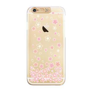 SG iPhone6 Clear Art イルミネーションケース ゴールド チェリーブロッサム(Gold Cherry Blo)