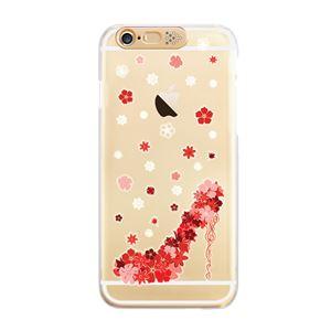 SG iPhone6 Plus Clear Art イルミネーションケース ゴールド スプリングヒール(Gold Spring Heel)