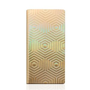 SLG Design iPhone6/6S Metal Hologram Diary ゴールド