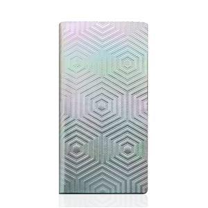 SLG Design iPhone6/6S Metal Hologram Diary シルバー