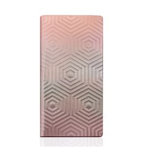 SLG Design iPhone6/6S Metal Hologram Diary ピンクゴールド