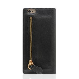 SLG Design iPhone6/6S Saffiano Zipper Case ブラック