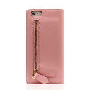 SLG Design iPhone6/6S Saffiano Zipper Case ベビーピンク