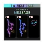 Dparks iPhone 8 / 7 Twinkle Case BabyGoodnight ブルーの画像