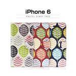 dreamplus iPhone 6 Pastel Diary Tree ネイビー