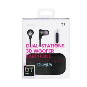 DUALS 3D Woofer earphone T3