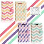 Happymori iPhone 5 / 5s Summer Pattern コーラルピンク
