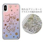 iCover iPhone X Sparkle case Calligraphy