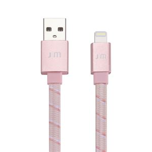 Just Mobile AluCable Flat RoseGold