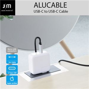 Just Mobile AluCable USB-C to USB-C Cable