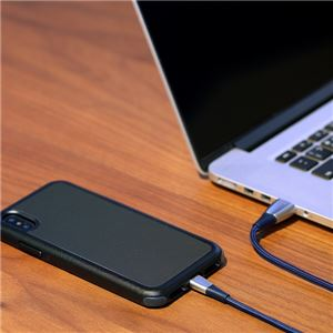 Just Mobile Zin Cable black
